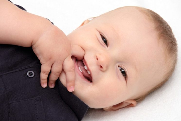 Pierwsze ząbki dziecka