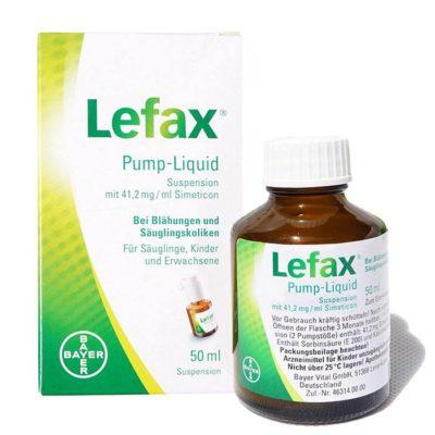 Lefax kropelki na kolkę niemowlęcą