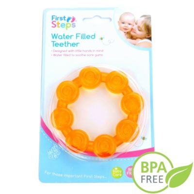 Gryzak z wodą pomarańczowy