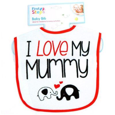 Śliniak niemowlęcy Love My Mummy