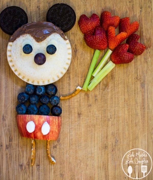 Myszka - jedzenie dla dziecka atrakcyjne wizualnie
