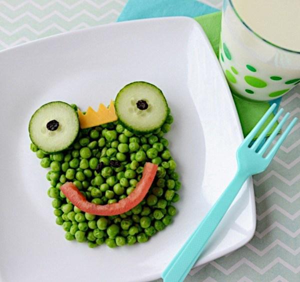 Warzywna żaba dla dziecka